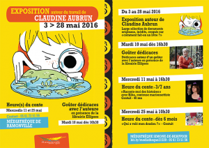 expo claudine Aubrun
